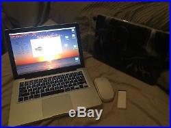Macbook pro 13 BUNDLE! I5 16gb Ram + Custom Case + Apple Mouse and Ir Remote