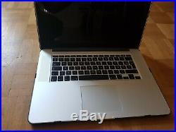 Macbook pro 15 + 512 Go + i7 2,5 GHz + 16 Go + tech21 protection case new neuve