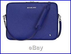 Michael Kors Macbook Pro / Pro Retina 13 Sleeve Case Crossbody Sapphire Blue