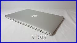 Mint MacBook Pro RETINA 15 2.0ghz i7/8gb/256gb SSD ME293LL/A+EXTRAS+CASE