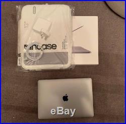 Mint Macbook Pro 13 2.3ghz i5 16GB 512GB 2017 SG Non-TB RRP£1829 Case Bundle