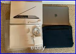 Mint Macbook Pro 13 TouchBar 2.7ghz i7 QUAD 16GB 256GB Applecare + Case Bundle