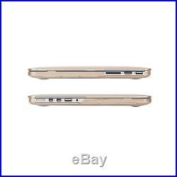 Moshi iGlaze Ultra Slim Hardshell Cover Case 13 Retina MacBook Pro SATIN GOLD