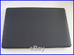 New Macbook Pro 17 See Thru Satin Black Speck Case Cover Discontinued