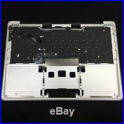 NEW MacBook Pro 13.3 A1708 2016/2017 Palmrest Top Case Keyboard Silver US