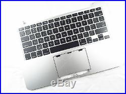 NEW US Keyboard Top Case Palm Rest for Macbook Pro 13 A1502 2013 2014 Retina