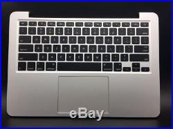 New 661-02361 Apple A1502 2015 Keyboard +Housing Top Case + Trackpad +Battery