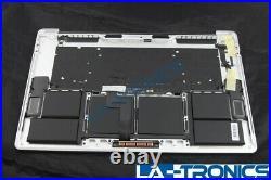 New Apple Macbook Pro 15 A1990 Silver Top Case Keyboard Plus Trackpad 661-10345