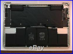 New Early 2013 -TOP CASE 15 MacBook Pro A1398 Battery/Trackpad/Keyboard Topcase