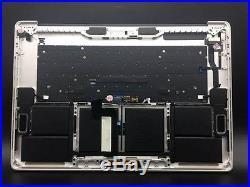 New Genuine Macbook Pro A1707 15 2016 2017 Silver Top Case Keyboard battery US