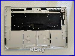 New Silver Top Case Palmrest & keyboard US For MacBook Pro A1707 15 2016 2017