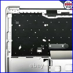New Top Case Palmrest Keyboard For MacBook Pro 13 A1708 2016-2017 US Silvery