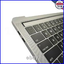 New Top Case Palmrest Keyboard For MacBook Pro 13 A1989 2018-2019 US Space Gray