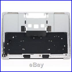 New Top Case Palmrest & keyboard US for Macbook Pro 13 2016 2017 A1706 Silver