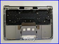 New Top Case Palmrest with us keyboard for Macbook Pro 13 2016 2017 A1706 Gray