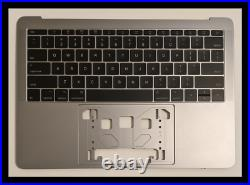 New Top Case keyboard US for MacBook Pro 13.3 A1708 Late 2016 / 2017 Space Gray