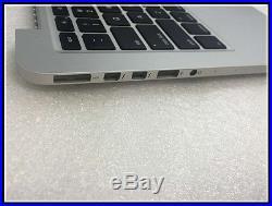 New Topcase For Macbook Pro 13 Retina A1425 2012 Top case Palmrest US keyboard
