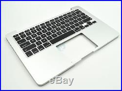 New US Keyboard Top Case Palm Rest for Apple Macbook Pro 13 A1502 2015 Retina