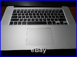 OEM APPLE MACBOOK PRO A1398 15 2013 2014 TRACK PAD KEYBOARD BATTERY TOP CASE A+
