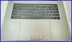 OEM MacBook Pro 15 2016 2017 A1707 Top Case + Touchpad + Keyboard Space Gray/C