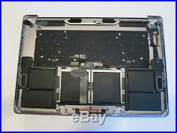 OEM MacBook Pro A1707 15 2016/2017 Top Case Battery Keyboard Touchbar Space Gray
