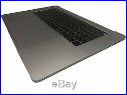 OEM MacBook Pro A1707 15 2016 2017 Top Case WithBattery Trackpad Touch bar Gray