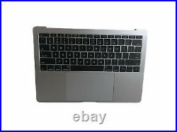 OEM MacBook Pro A1708 13 Late 16/17 Full Top Case Assembly MLL42LL Gray