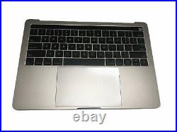 OEM Macbook Pro 13 2016 A1706 Gray Top Case Keyboard Battery A1819 Trackpad