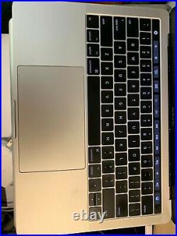 OEM Macbook Pro 13 2017 A1706 Silver Top Case Keyboard Battery A1819