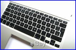Orig. MacBook Pro 17 A1297 2010 2011 TopCase Tastatur Keyboard (D) glossy50m
