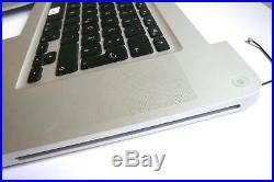Orig. MacBook Pro 17 A1297 2010 2011 TopCase Tastatur Keyboard (D) glossy5fh
