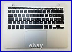 Original Apple MacBook Pro 13 A1425 2012 2013 Topcase QWERTZ Trackpad Akku