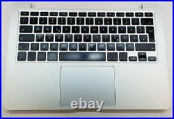 Original Apple MacBook Pro 13 A1502 2013 / 2014 Topcase QWERTZ Trackpad Akku