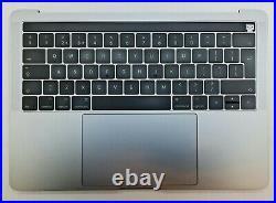 Original Apple MacBook Pro 13 A1706 Touchbar 2016 2017 Topcase Spacegray Akku