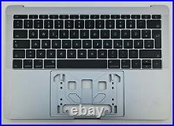 Original Apple MacBook Pro 13 A1708 2016 2017 Topcase Space Grey QWERTZ