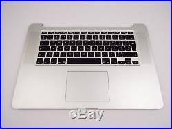 Original Palmrest for MacBook Pro Retina 15 A1398 late 2013 2014 Upper Case