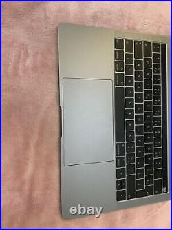 Original apple Top Case MacBook Pro 2018 a1989 with battery Space Gray