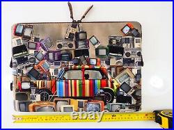 Paul Smith Laptop Case Sleeve 15 Apple MacBook Pro Stripe Mini TV Stereo Radio