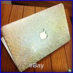 Premad Bling laptop case fr MACBOOK 13 pro retina with swarovski element
