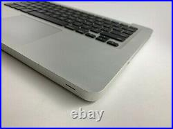 Real Apple Macbook Pro 13 A1278 2012 Palmrest Top Case With US Keyboard 661-6595