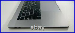 Real Top case Keyboard Battery Trackpad MacBook Pro 15 A1990 2018 2019 Gray