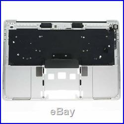 Silver Macbook Pro 13 A1706 Keyboard Palmrest Top Case with Keyboard US