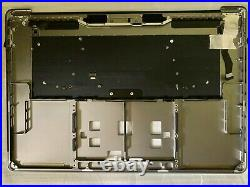 Space Gray A1707 Top Case Palmrest keyboard Touchbar MacBook Pro 15 2016 2017