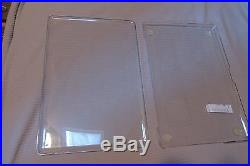 Speck Macbook Pro 17 Clear Protective Hard Case-RARE-Discontinued -NEW