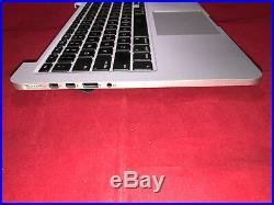 Swiss Top Case Palmrest Keyboard 13 A1502 Apple MacBook Pro Retina 2015