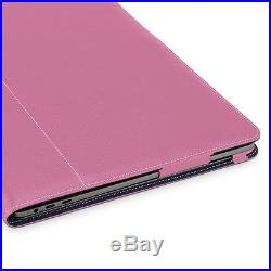 TETDED Premium Leather Case for Apple MacBook Pro 15 Touch Bar 2016 LC Pink