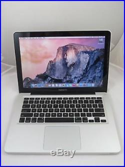 THE Apple MacBook Pro 13.3 MD101LL/A just faster i5 8GB RAM 256GB SSD & case
