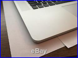 TOP CASE (Late 2013) 15 MacBook Pro (A1398) Trackpad (290 Battery Cycles)