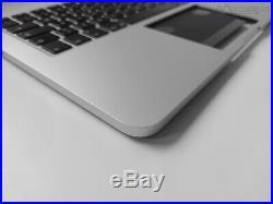 Tastatur QWERTZ DE Topcase Palmrest 13 MacBook Pro RETINA A1502 2015 ONLY