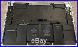 Top Case Assembly Mid 2015 15 MacBook Pro BULGING BATTERY ONLY 25 CYCLES